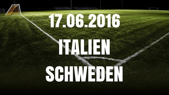 italien vs schweden