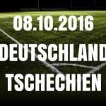 Deutschland – Tschechien 08.10.16 Tipp und Vorschau
