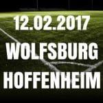 VFL Wolfsburg - 1899 Hoffenheim Tipp und Vorschau 12.02.2017