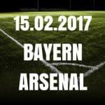 Bayern München - Arsenal London Tipp und Vorschau 15.02.2017