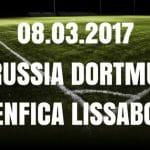 Borussia Dortmund - Benfica Lissabon Tipp und Vorschau 08.03.2017