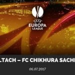 SCR Altach – FC Chikhura Sachkhere EL Qualifikation Tipp 2017