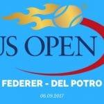 Roger Federer - Juan Martin del Potro Tipp 06.09.2017