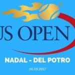 Rafael Nadal - Juan Martin del Potro Tipp 08.09.2017