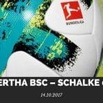 Hertha BSC – Schalke 04 Tipp 14.10.2017