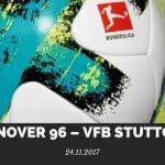 Hannover 96 – VFB Stuttgart Tipp 24.11.2017