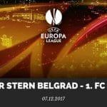 Roter Stern Belgrad - 1. FC Köln Tipp 07.12.2017