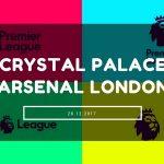 Crystal Palace - Arsenal London Tipp 28.12.2017