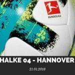 Schalke 04 – Hannover 96 Tipp 21.01.2017