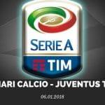 Cagliari Calcio - Juventus Turin Tipp 06.01.2018