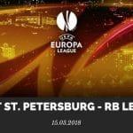 Zenit St. Petersburg - RB Leipzig Tipp 15.03.2018