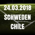 Schweden – Chile Freundschaftsspiel Tipp 24.03.2018
