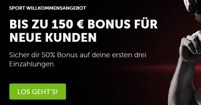 Betsafe Sportwetten Bonus