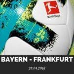 Bayern München – Eintracht Frankfurt Tipp 28.04.2018