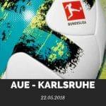Erzgebirge Aue - Karlsruher SC Tipp 22.05.2018