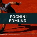 Fabio Fognini - Kyle Edmund Tipp 02.06.2018