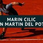 Marin Cilic - Juan Martin del Potro Tipp 06.06.2018