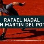 Rafael Nadal - Juan Martin del Potro Tipp 08.06.2018