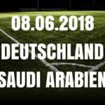 Deutschland – Saudi Arabien Tipp 08.06.2018
