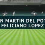 Juan Martin del Potro - Feliciano Lopez Tipp 05.07.2018