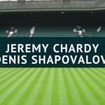 Jeremy Chardy - Denis Shapovalov Wimbledon Tipp 03.07.2018