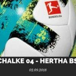 Schalke 04 – Hertha BSC Berlin Tipp 02.09.2018
