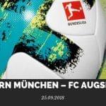 Bayern München – FC Augsburg Tipp 25.09.2018