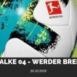 Schalke 04 – Werder Bremen Tipp 20.10.2018