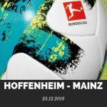 1899 Hoffenheim – Mainz 05 Tipp 23.12.2018