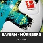 Bayern München – 1. FC Nürnberg Tipp 08.12.2018