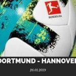 Borussia Dortmund – Hannover 96 Tipp 26.01.2019