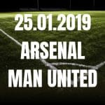 FC Arsenal – Manchester United FA-Cup 25.01.2019
