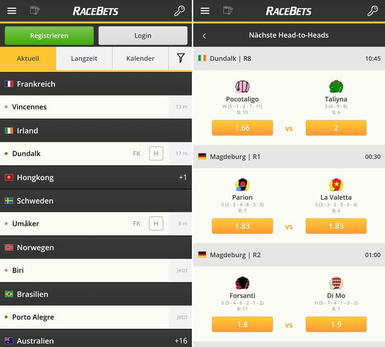 Racebets App