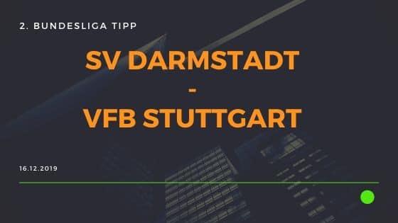 SV Darmstadt 98 - VfB Stuttgart 16.12.2019 2. Bundesliga