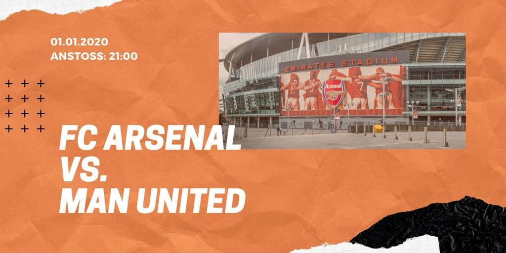 FC Arsenal - Manchester United 01.01.2020 Premier League