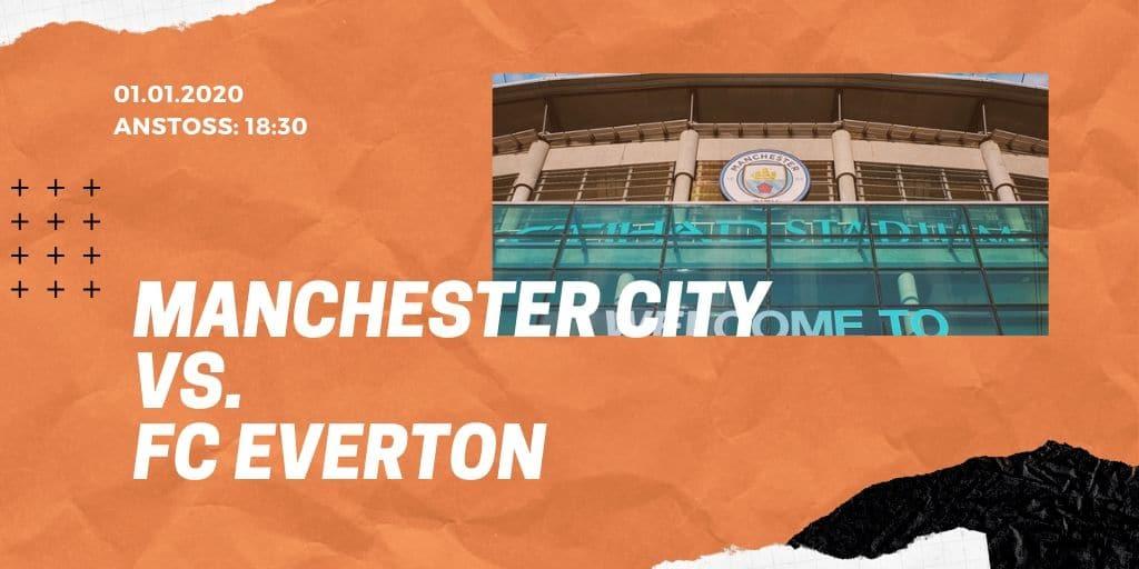 Manchester City - FC Everton 01.01.2020 Premier League