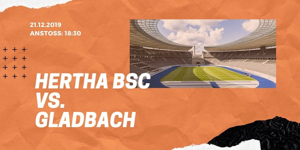 Hertha BSC - Borussia Mönchengladbach 21.12.2019 Bundesliga