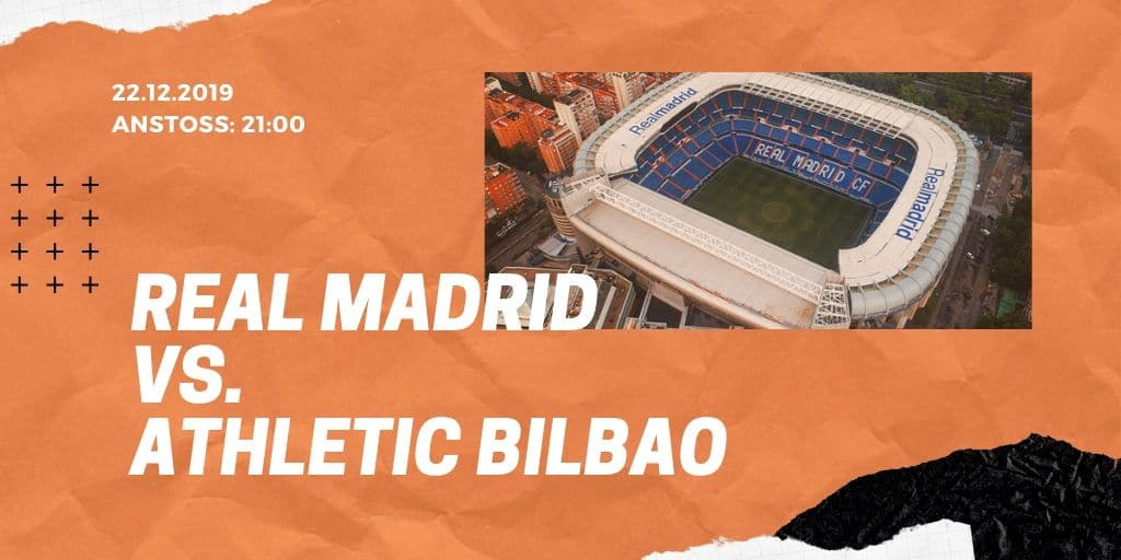 Real Madrid - Athletic Bilbao 22.12.2019 La Liga