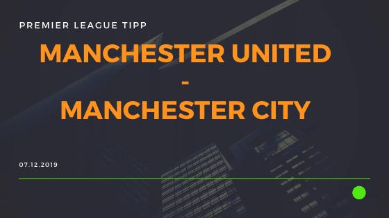Manchester City - Manchester United 07.12.2019 Premier League