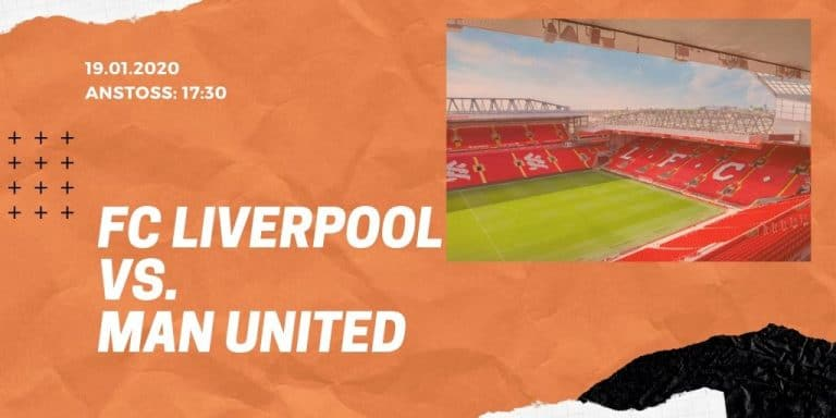 FC Liverpool - Manchester United 19.01.2020 Premier League