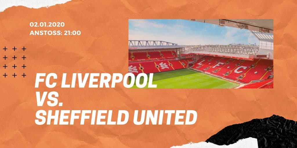 FC Liverpool - Sheffield United 02.01.2020 Premier League