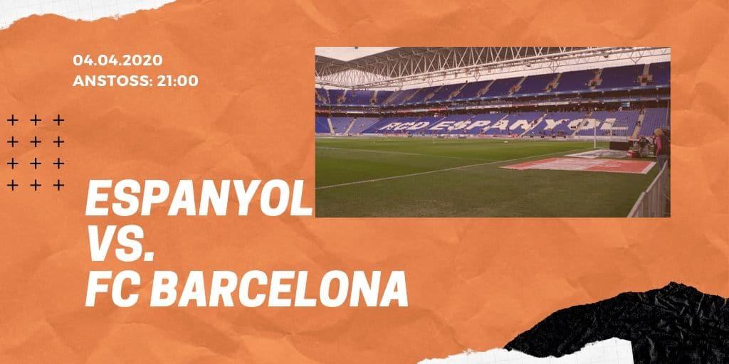 Espanyol Barcelona - FC Barcelona 04.01.2020 La Liga
