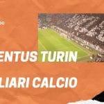 Juventus Turin - Cagliari Calcio 06.01.2020 Serie A