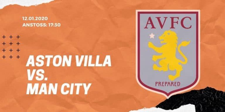 Aston Villa - Manchester City 12.01.2020 Premier League