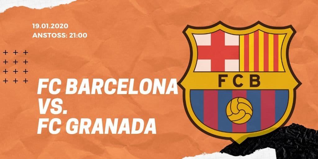 FC Barcelona - FC Granada 19.01.2020 La Liga