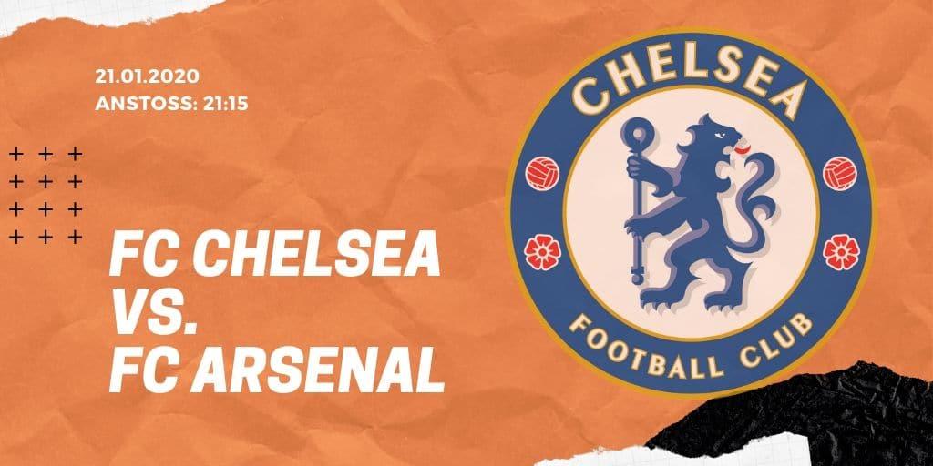 FC Chelsea - FC Arsenal 21.01.2020 Premier League