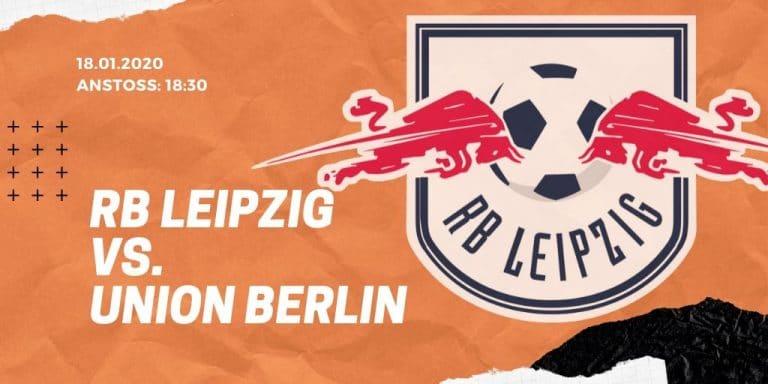 RB Leipzig - 1. FC Union Berlin 18.01.2020 Bundesliga