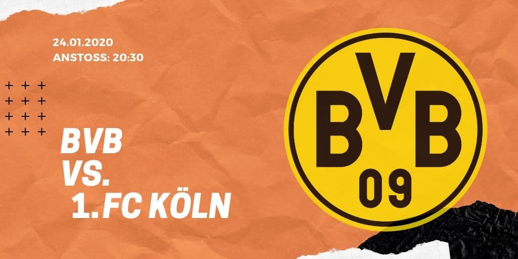 Borussia Dortmund - 1. FC Köln 24.01.2020 Bundesliga
