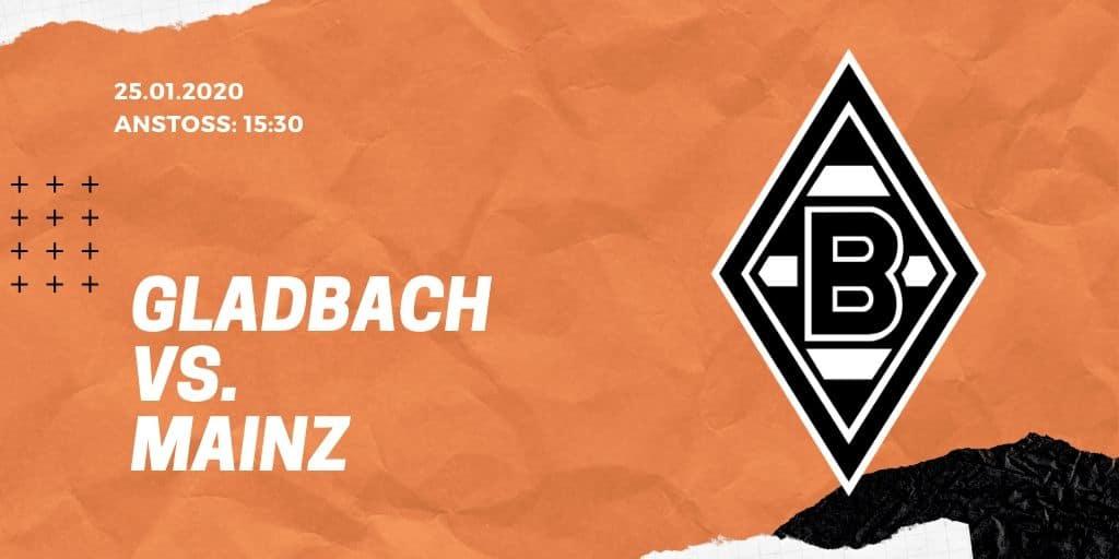 Borussia Mönchengladbach – FSV Mainz 05 Tipp 25.01.2020 Bundesliga