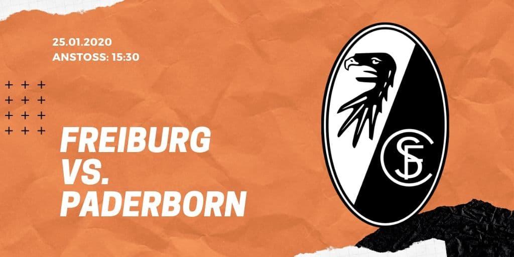 SC Freiburg –SC Paderborn 07 25.01.2020 Bundesliga